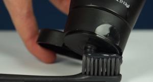 черная зубная паста